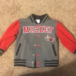Toddler boys Mickey Mouse jacket